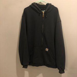 Carhartt hoodie 14806 grayish black